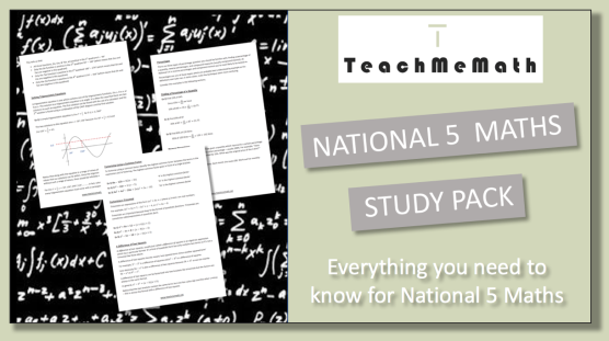 National 5 Study Pack Ad